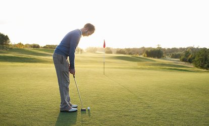 image for 9- or 18-Hole Golf with Food and Drink for Two or Four at Hatchford Brook Golf Club (Up to 64% Off)