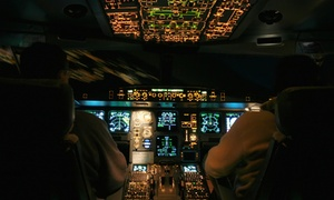 Flight City Enterprises: CC$99 for One 45-Minute Flight Simulator Experience at Flight City Enterprises (CC$199 Value)