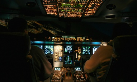 $99 for One 45-Minute Flight Simulator Experience at Flight City Enterprises ($199 Value)