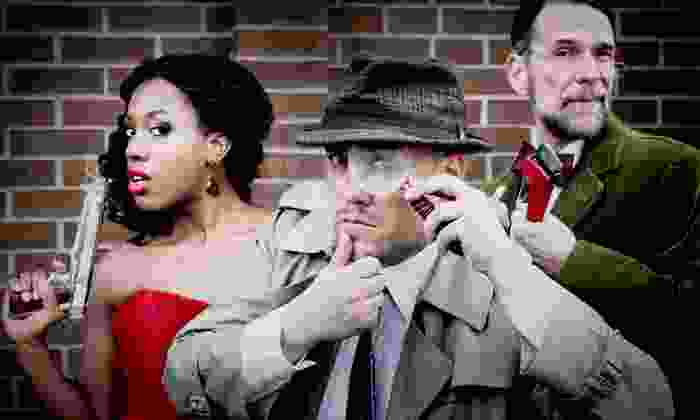 The Murder Mystery Company - Sheffield Park: Dinner Show for One or Two from The Murder Mystery Company (52% Off)
