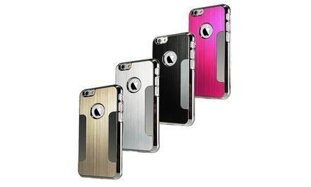 Case voor iPhone 5/5S/6/6+, naar keuze met stylus en screen protector, in kleur naar keuze