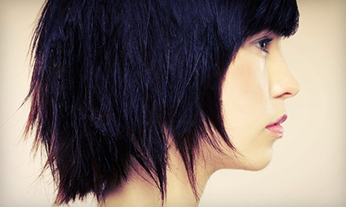 Salon Ghazi - Beltline: Haircut and Conditioning Treatment with Optional Full Highlights or Single-Process Colour at Salon Ghazi (Up to 68% Off)