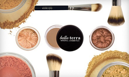 Mineral Cosmetics from Bella Terra Mineral Cosmetics (Up to 78% Off). Three Options Available.