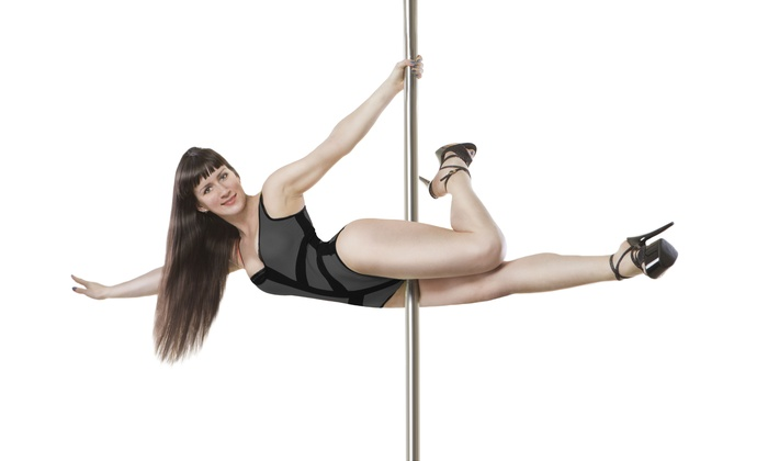 Pole Control Studios - Downtown: 10 or 20 Pole-Dancing Classes or Intro to Pole-Dancing Party for Up to Five Women (Up to 77% Off)