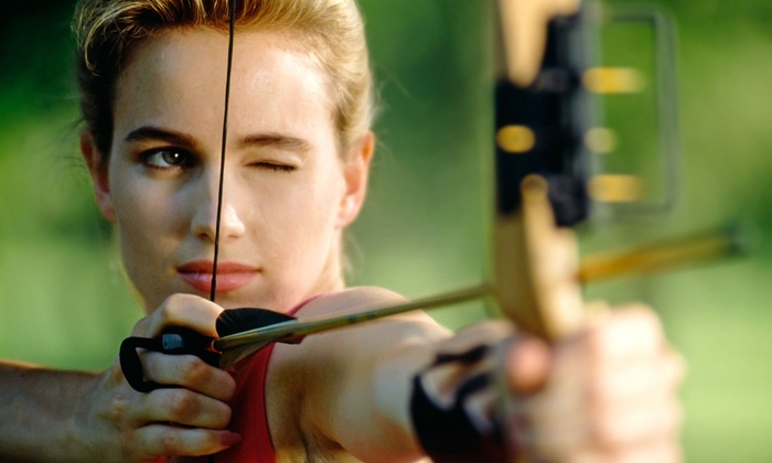 Barefoot Archery - Old Pineville Road: $25 for a One-Hour Practice Session with Bow and Arrow Rental for Two at Barefoot Archery ($50 Value)