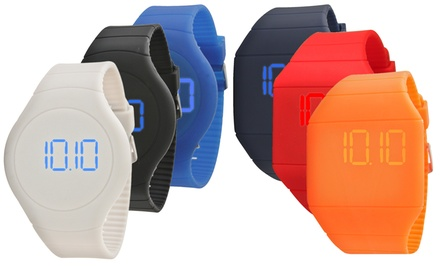 Slim Touchscreen LED Watch for Men and Women. Multiple Colors Available. Free Returns.