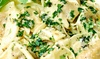 Italian Cafe - Jefferson: Half Off Italian Cuisine at Italian Cafe (Half Off). Two Options Available.