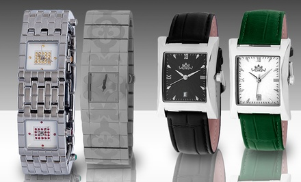 Palazzo Brugiotti Men's and Women's Watches. Multiple Styles Available.