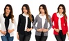 4-Pack of Women's Button-Down Cardigans: 4-Pack of Women's 100% Cotton Button-Down Cardigans
