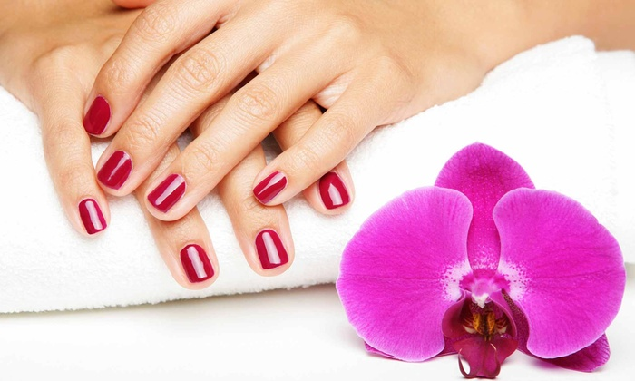 Nail Talk - Grant Ranch: One, Two, or Three Shellac Manicures at Nail Talk and Hair (Up to 56% Off)