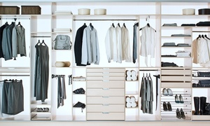 Indeco: Wykonanie szafy lub garderoby na wymiar z Indeco®: 99,99 zł za groupon zniżkowy wart 800 zł