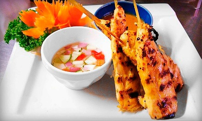 Bamboo Thai Restaurant - Commonwealth: Thai Cuisine at Bamboo Thai Restaurant (Up to 52% Off). Two Options Available.