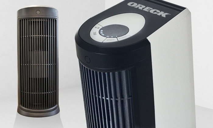 how to open oreck air purifier