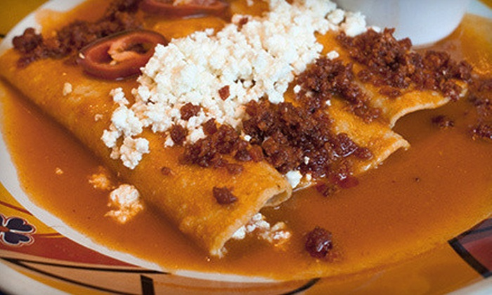 Casa Mañana - Aberdeen Court: $15 for $30 Worth of Mexican Food and Drinks at Casa Mañana
