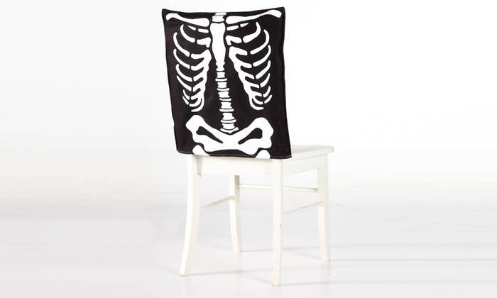 skeleton chair cover groupon