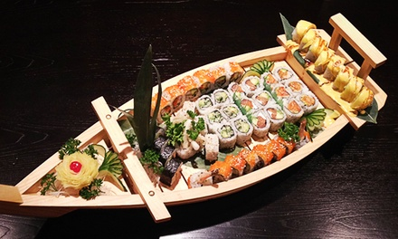 $28 for  a Sushi Boat for Two at Sawa Sushi ($51.90 Value)