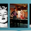 """24""""x36"""" Marilyn Monroe and Celebrity Friends Print"""