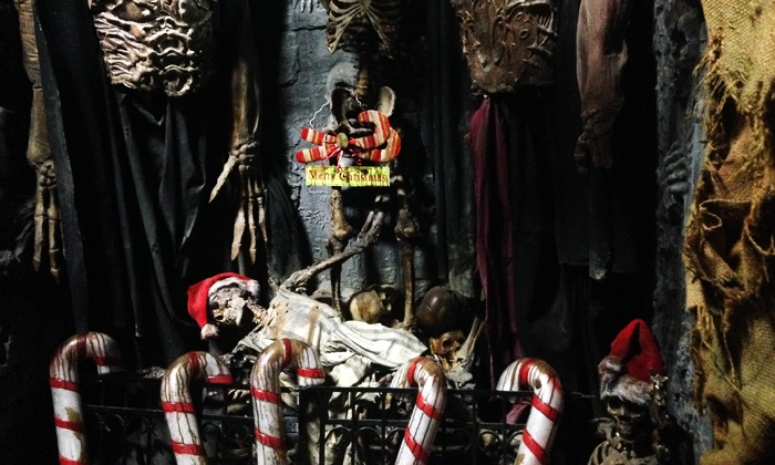 Massacre Haunted House - Montgomery: Fast-Pass Entry to the Christmas Nightmare for One, Two, or Four at Massacre Haunted House (Up to 51% Off)