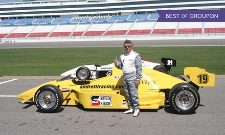 Three-Lap Ride-Along or Three-Hour Driving Experience from Mario Andretti Racing Experience (Up to 51% Off)