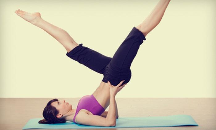 Pure Heat Yoga - Genoa: $20 for Five Hot-Yoga Classes at Pure Heat Yoga in Howell ($75 Value)