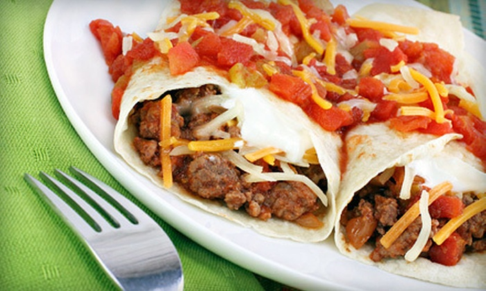 Hak-A-Lito Grill - Rancho Cucamonga: Mexican Food at Hak-A-Lito Grill (Half Off). Two Options Available.