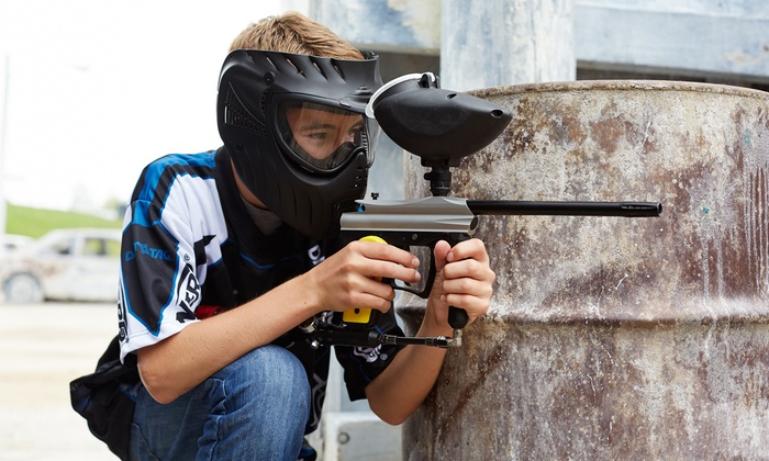 Oil Ranch Paintball - Cypress/Tomball: Paintball for 2, 4, 6, or 8 w/ Gear, Refills, & 200 Paintballs Per Player at Oil Ranch Paintball (Up to 54% Off)