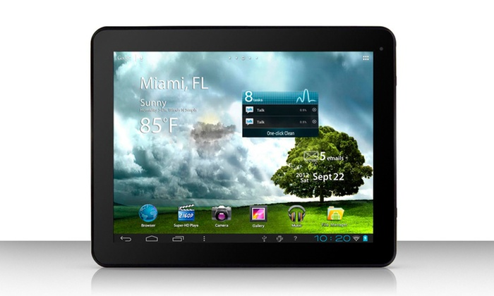 """Mach Speed Trio Stealth Pro 9.7"""". Android Tablet: Mach Speed Trio Stealth Pro 9.7""""8GB Android Tablet."""