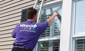Window Genie of Charlotte: Window Cleaning or Gutter Cleaning and Inspection from Window Genie (Up to 60% Off)