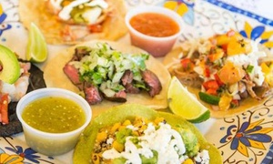 Agave Taco Bar: Mexican Cuisine at Agave Taco Bar (Up to 43% Off). Two Options Available.