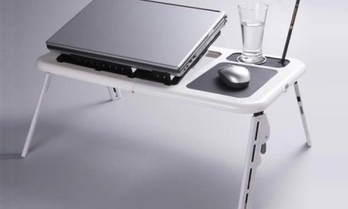 Tavolino porta PC con ventole a 15,98 €