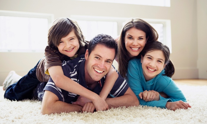Heaven's Best Carpet Cleaning - Spokane / Coeur d'Alene: Carpet Cleaning for Two or Four Rooms and One Hallway from Heaven's Best Carpet Cleaning  (Up to 53% Off)