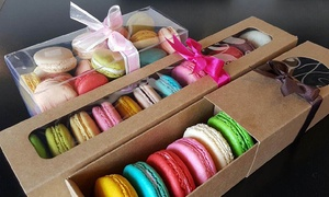Little Thai Hut: One or Two Boxes of Macaron Cookies at Little Thai Hut (Up to 46% Off). Three Options Available.