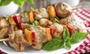Greek Village Restaurant - Schaumburg: $17 for $30 Worth of Seafood, Mediterranean Cuisine and Drinks During Dinner at Greek Village Restaurant
