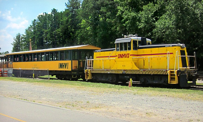 New Hope Valley Railway - Buckhorn: $5 for Scenic Diesel Train Ride from New Hope Valley Railway in New Hill ($10 Value). Eight Dates Available.
