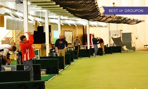 The Golf Dome: One Hour of Driving-Range Practice, One Hour of Golf-Simulator Access, or Both at The Golf Dome (Up to 53% Off)