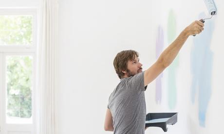 Imbiancatura delle pareti fino a 150 m² calpestabili con Decor White (sconto fino a 83%)