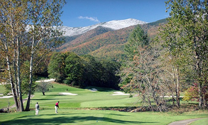 Mount Mitchell Golf Resort - South Toe: $200 for a Two-Night Condo Stay for Up to Four at Mount Mitchell Golf Resort in Burnsville ($400 Value)