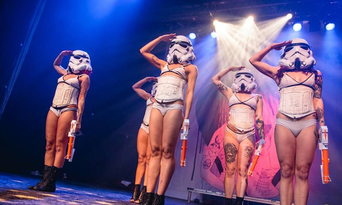 """""""Suicide Girls: Blackheart Burlesque"""" - The Pressroom: SuicideGirls Blackheart Burlesque on Wednesday, November 18 at 8 p.m."""
