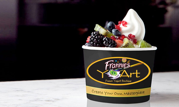 YoArt - Midtown Center: Frozen Yogurt for Two or Four at YoArt (Up to 45% Off)