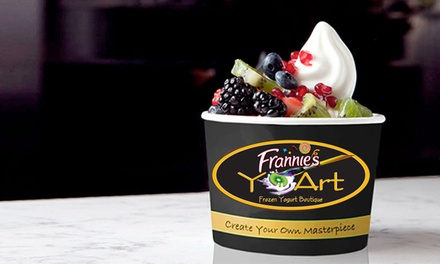 Frozen Yogurt for Two or Four at YoArt (Up to 45% Off)