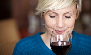 Just A Taste: Wine Tasting for Two or Four or Wine-Tasting Class for Two or Four at Just A Taste (Up to 44% Off)
