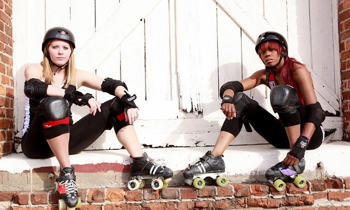 Columbia Quadsquad Rollergirls - Skate Station U.S.A.: 10 Weeks of Roller-Skating Lessons from Columbia QuadSquad (69% Off)