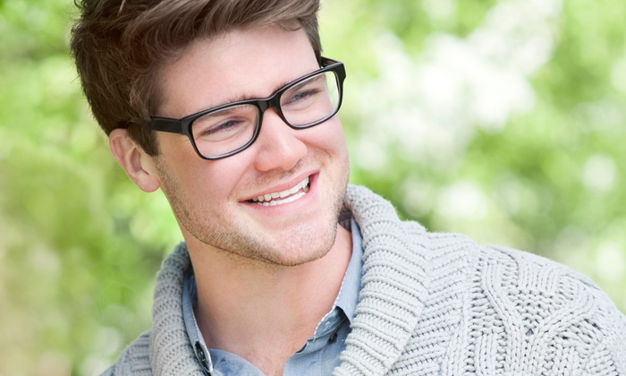 Laurier Optical - Multiple Locations: Lenses and Frames or Eye Exam Rebate for Credit Toward Complete Pair of Glasses at Laurier Optical (Up to 86% Off)