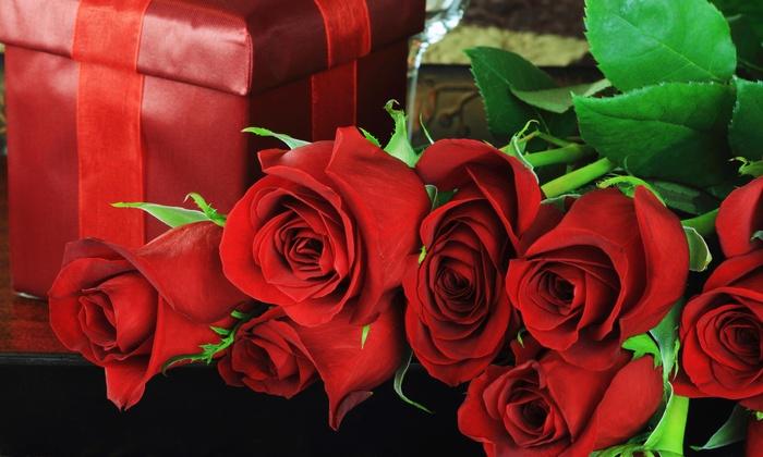 18th Avenue Florist - Borough Park: $29 Off Hand Wrapped Dozen Rose Bouquet  at 18th Avenue Florist