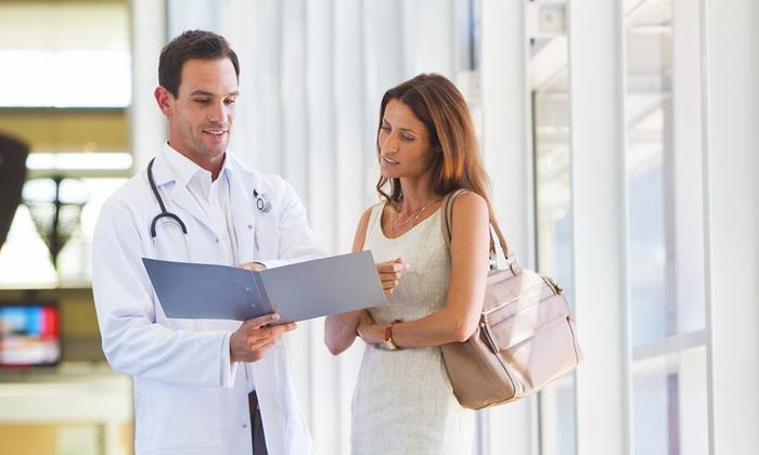 Visita ginecologica e senologica con ecografie ed esami (sconto fino a 80%)