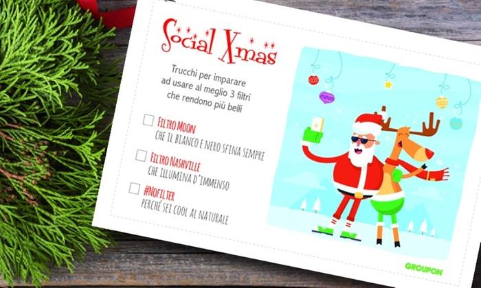 Tutti amano farsi notare sui social! Regala i trucchi per sopravvivere a un Natale 2.0 con stile!