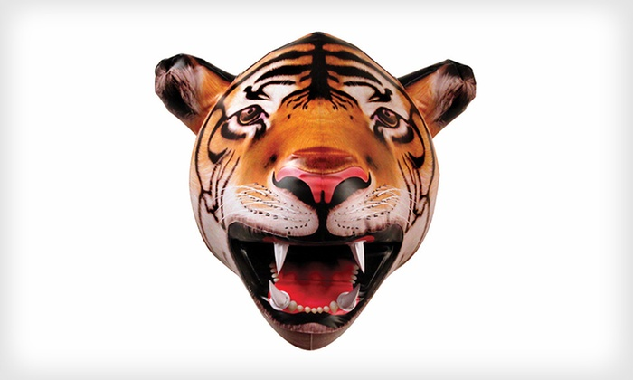 Big Mouth Toys Inflatable Tiger Head: $14 for a Big Mouth Toys Inflatable Tiger Head ($25 List Price). Free Returns.