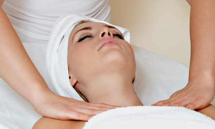 60-Minute Massage with Optional Facial at Wrap Your Body Back Spa and Esthetics (51% Off)