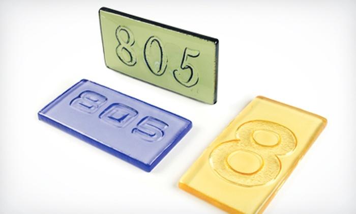 Bullseye Glass Co - Santa Fe: $49 for a Block Party: Carving Glass with Heat Class at Bullseye Glass Co ($100 Value)