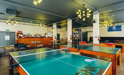 Bottomless Brunch with Ping Pong or Beer Pong Games for Two or Four at Sink Pong (62%)